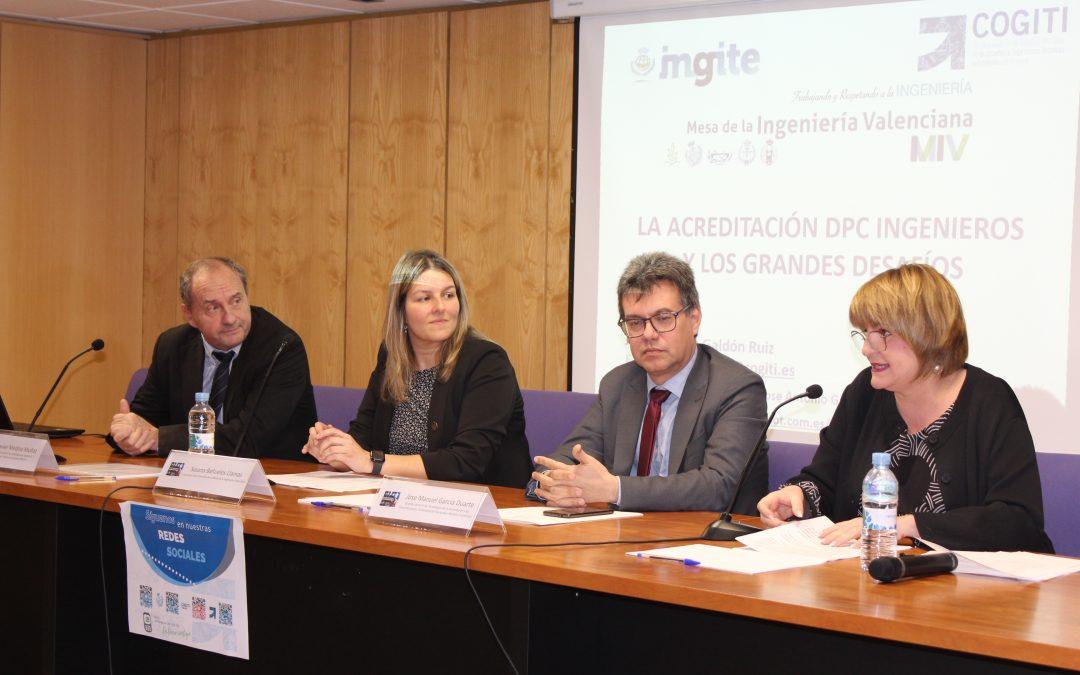 """COGITCV/AGITCV presente en la jornada """"Titulación y capacitación. La evolución a la excelencia profesional"""""""