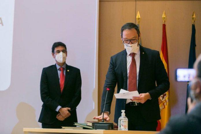 Miembros del COGITCV asistieron a la toma de posesión de Jesús Alba y Héctor Esteban