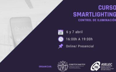 Curso de SMARTLIGHTING en colaboración con ASELEC