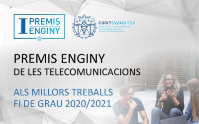 """I EDICIÓN """"PREMIS ENGINY DE LES TELECOMUNICACIONS – COGITCV/AGITCV"""""""