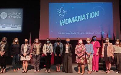 Participación en el Womanation celebrado el Día Internacional de la Mujer en la Ingeniería