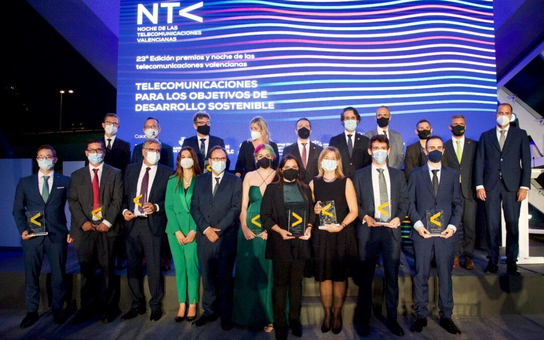 Éxito de participación en la XXIII edición de la Noche de las Telecomunicaciones Valencianas