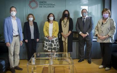 Nuestra vocal del COGITCV Victoria E. Gutiérrez Martínez recibirá el premio de Unión Profesional Valencia a IONCLINICS & DEIONICS